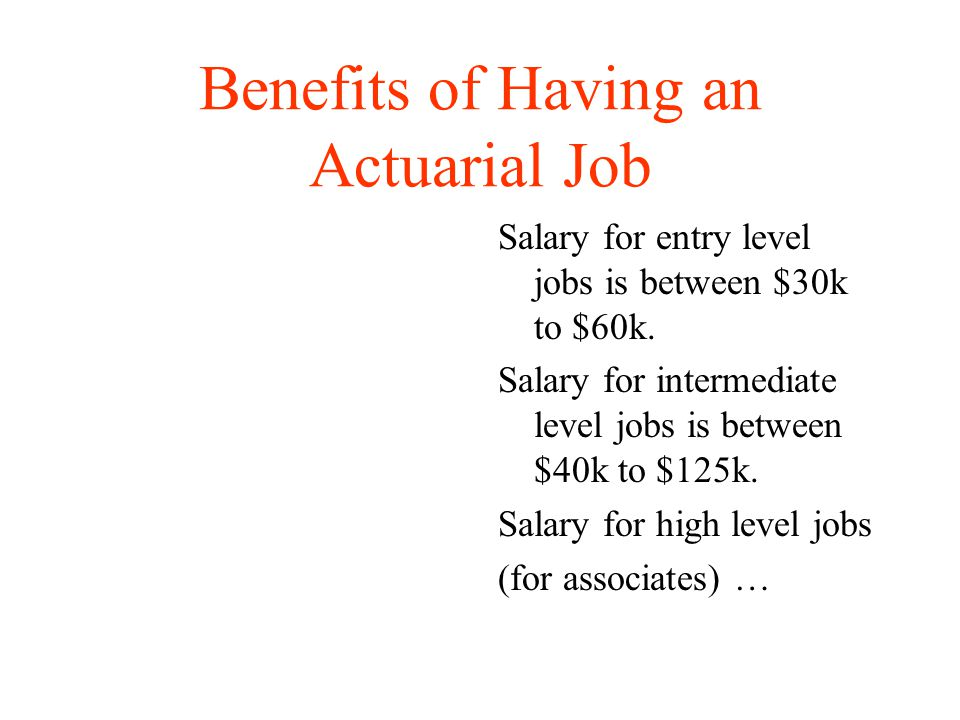 Careers In Mathematics Actuaries Careers  Ppt Video Online Download