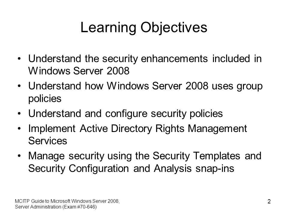 learning group policy