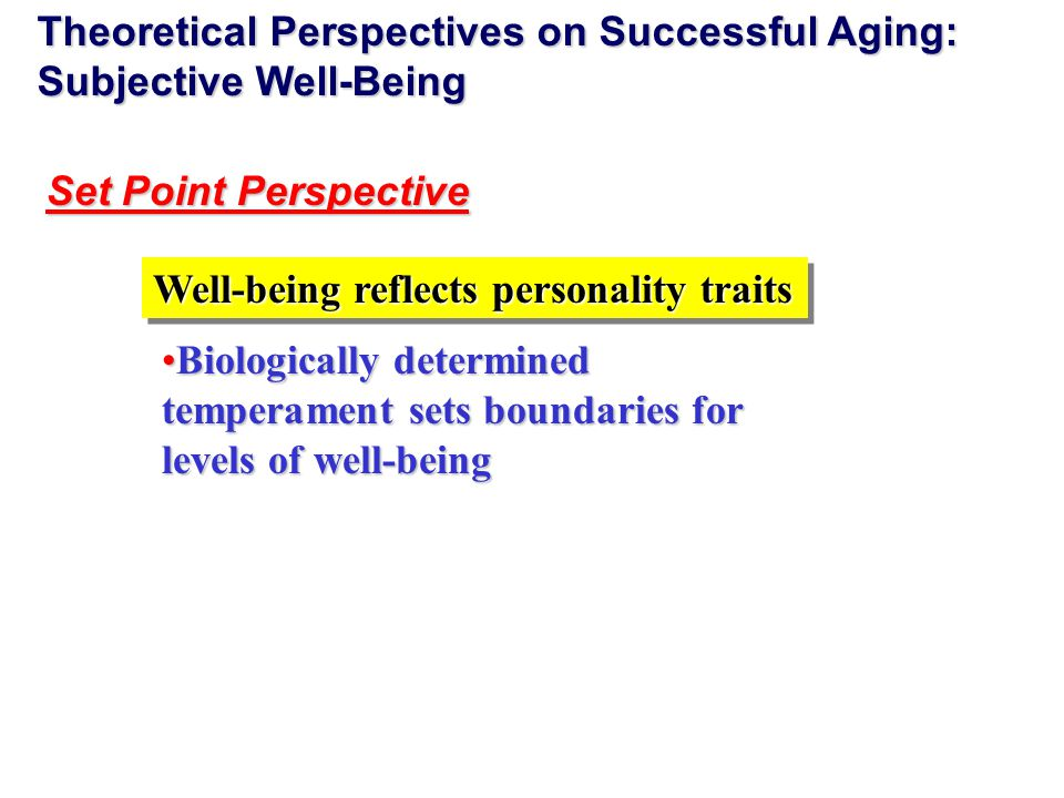 successful aging from the perspective of Successful aging from the perspectives of older people living with hiv in canada today, living with hiv is as much about wellbeing, social partici.