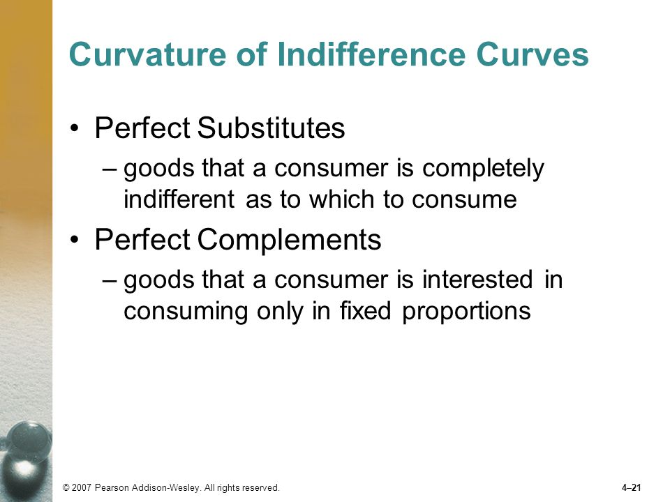 Curvature of Indifference Curves