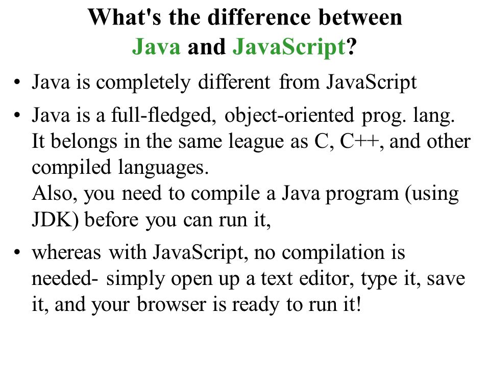 a comparison of the similarities and differences between the new programming languages java and c C vs c++ comparison this is an objective comparison of the applications the origins and development trajectory of the two programming languages are also discussed differences similarities.