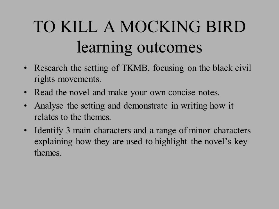 atmosphere theme and character in the first five chapters of to kill a mockingbird The to kill a mockingbird study guide contains a biography of to kill a mockingbird chapters 1-6 summary and character analysis in to kill a mockingbird.
