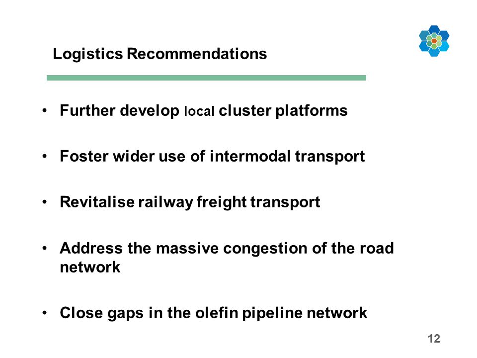 Logistics Recommendations