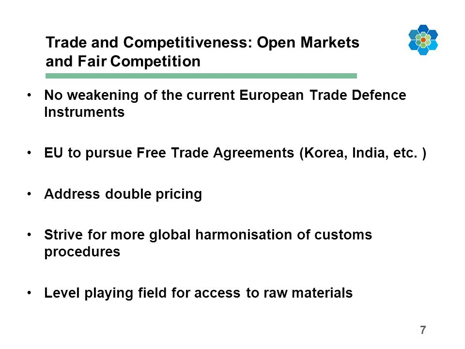 Trade and Competitiveness: Open Markets and Fair Competition