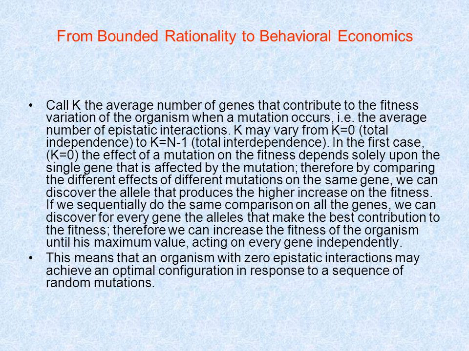 bounded rationality a personal case The case incident 1 (at the end of the chapter) considers computerized decision making further  bounded rationality, and intuition rational decision making we.