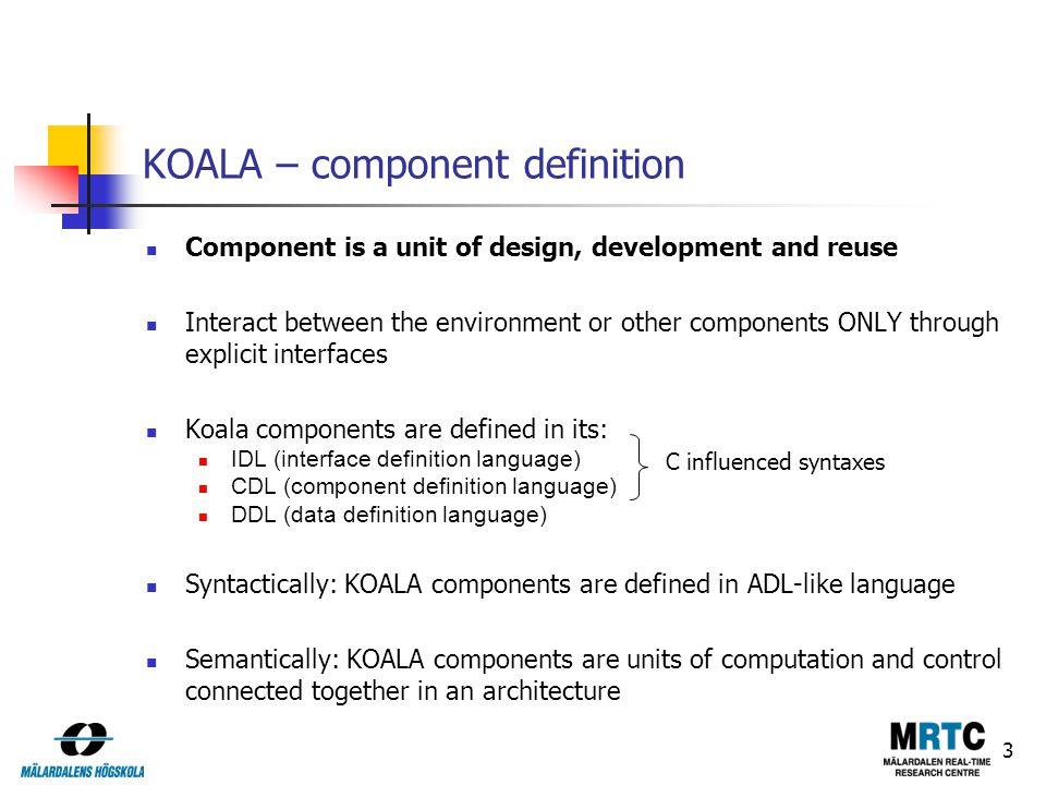 Koala robocop kobra pecos and pin ppt video online - Koala components ...