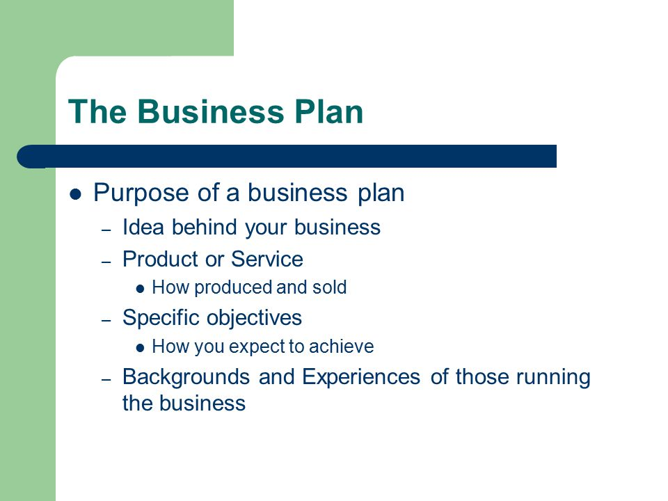 How To Sell A Business Plan