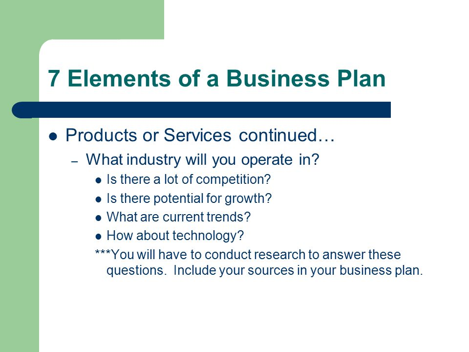 Well Written Business Plan