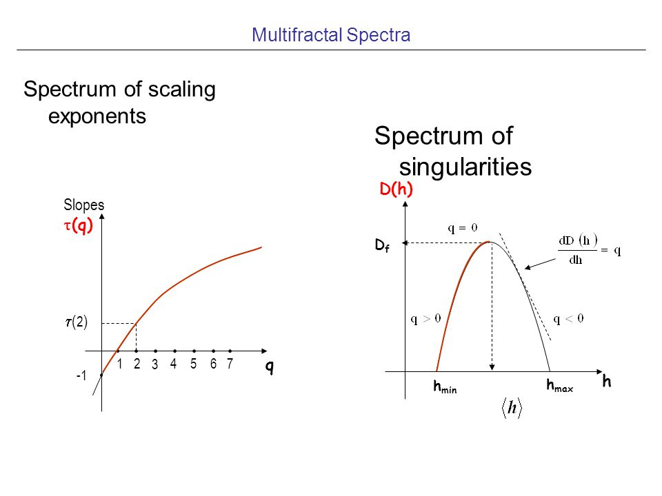 Spectrum of singularities