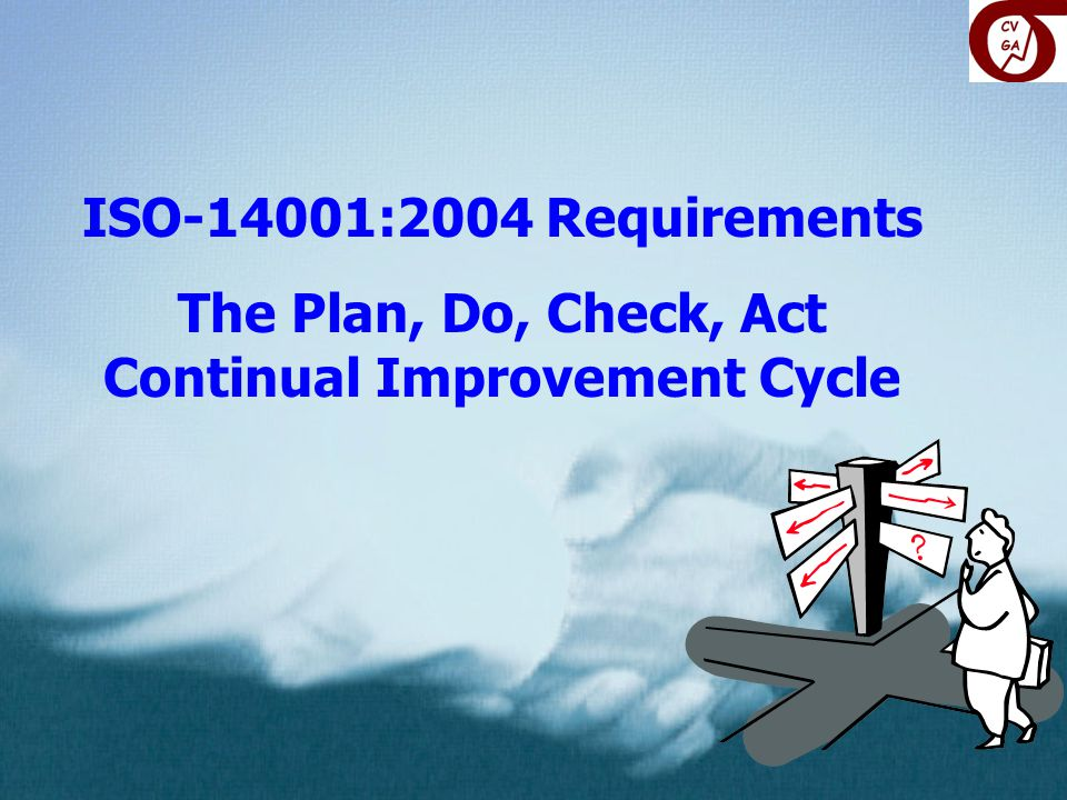 The Plan, Do, Check, Act Continual Improvement Cycle