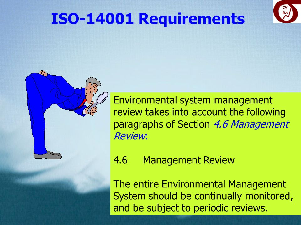 ISO-14001 Requirements