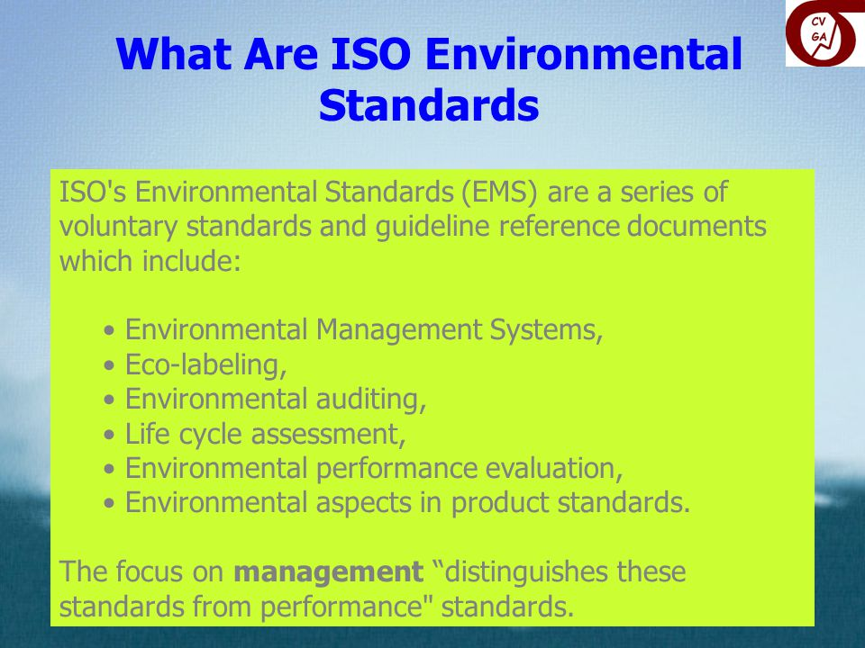 What Are ISO Environmental Standards