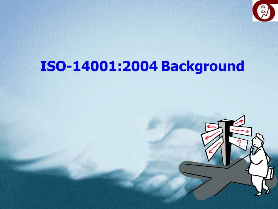 ISO-14001:2004 Background