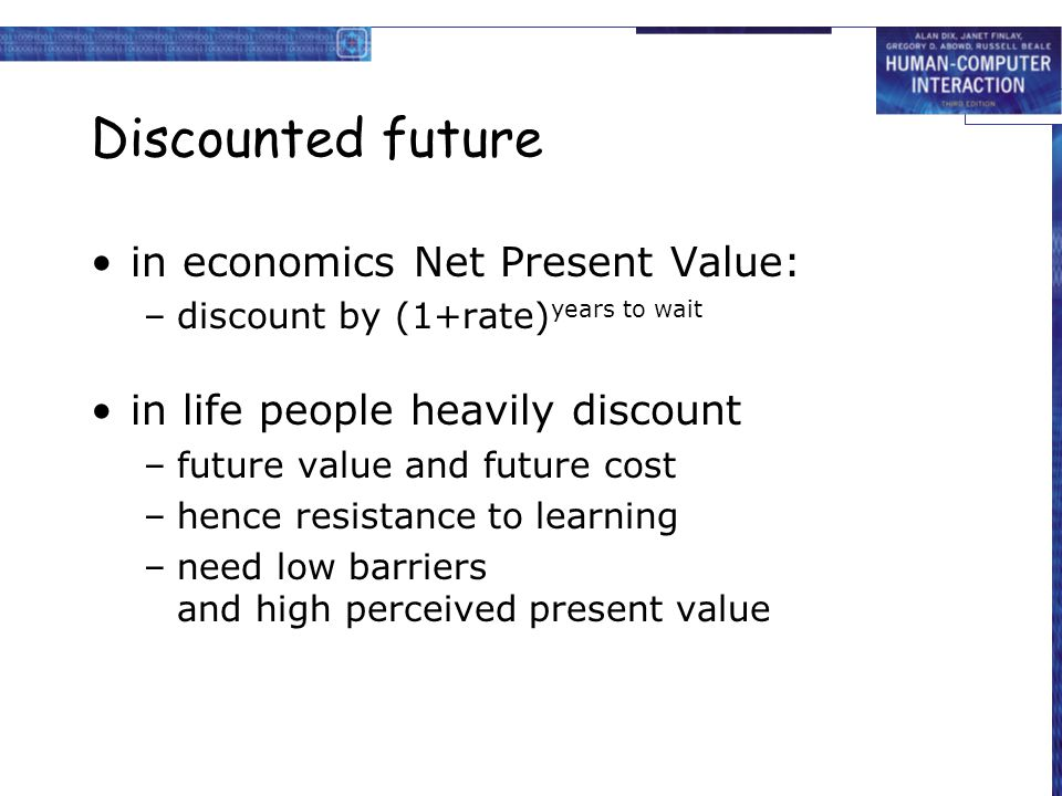 net present value and learning objective Tutorial on how to calculate net present value (npv) with definition, formula, example learn online.