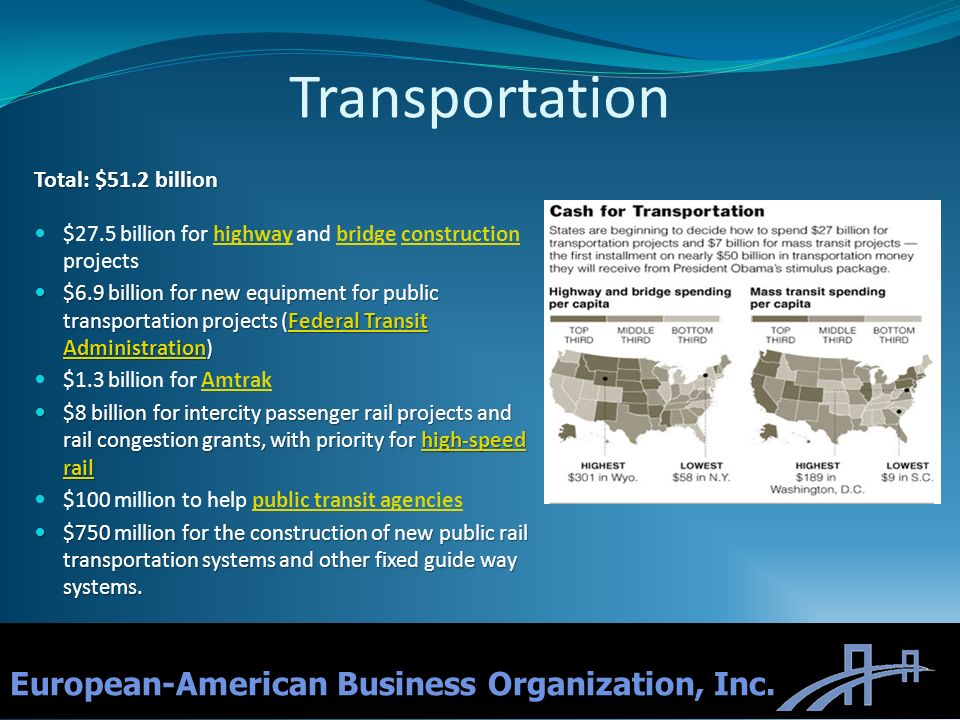 Transportation European-American Business Organization, Inc.