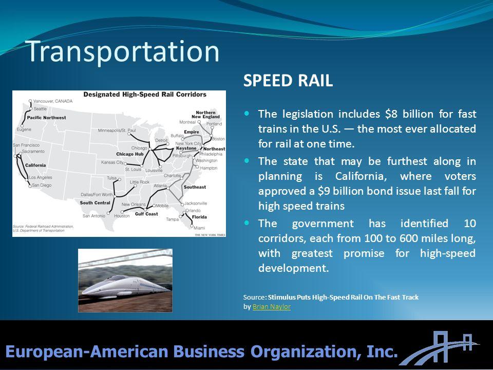 Transportation SPEED RAIL