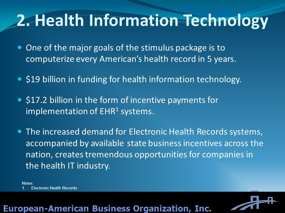 2. Health Information Technology