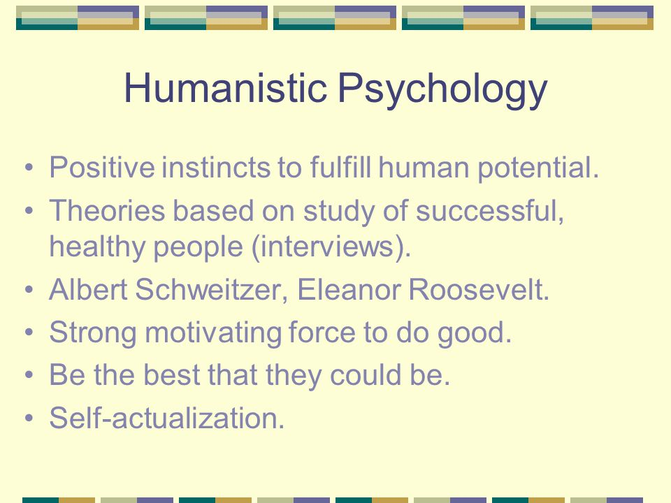 humanistic case study