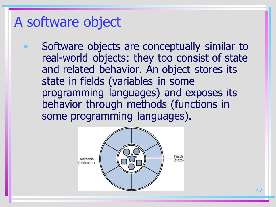 A software object