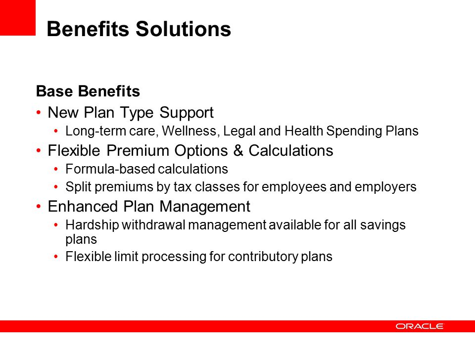 Flexible Benefits System - Third-Party Administration of ...