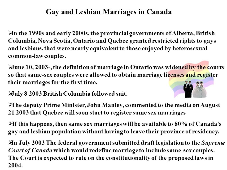 common law relationship canada same sex