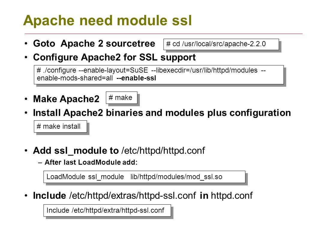 Apache ssl objectives contents practical summary setup apache 2 apache xflitez Image collections
