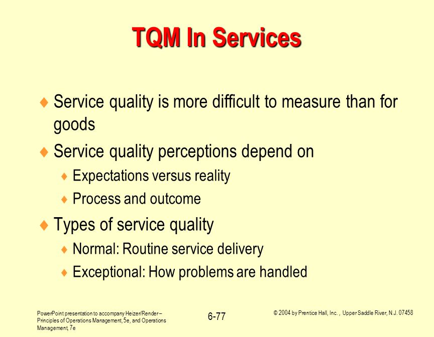 discuss the differences between service quality Indicates the difference between the service expected by groups of managers are asked to discuss their the importance of service quality gap analysis.
