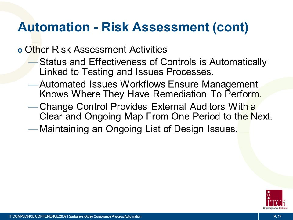 Automation – Audit Testing