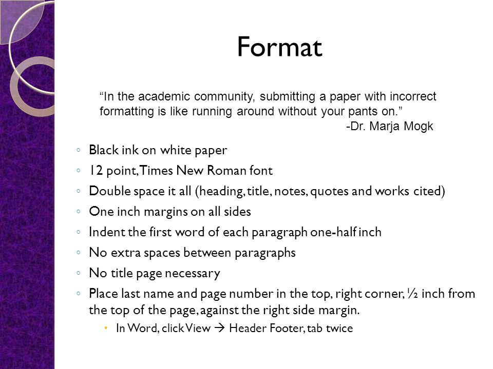 Elements Of Mla Format And Documentation  Ppt Video Online Download