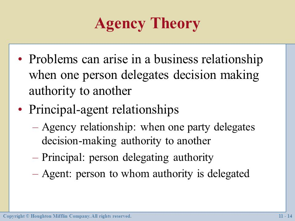 What Is a Principal-Agent Relationship?