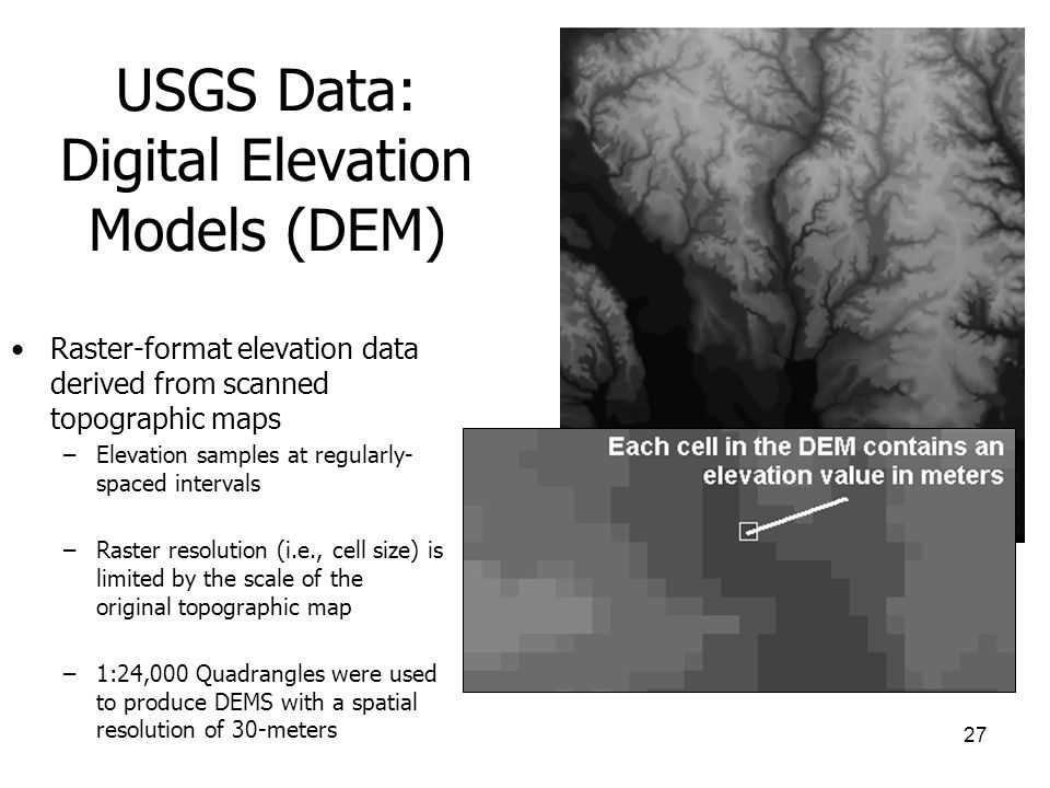 GIS Data Sources Ppt Video Online Download - Dem elevation data
