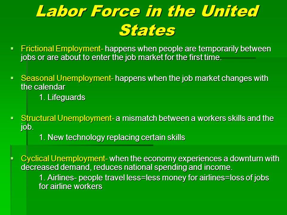 labor changes in the united states From the era of reconstruction to the end of the 19th century, the united states underwent an economic transformation marked by the maturing of the industrial economy, the rapid expansion of big business, the development of large-scale agriculture, and the rise of national labor unions and.