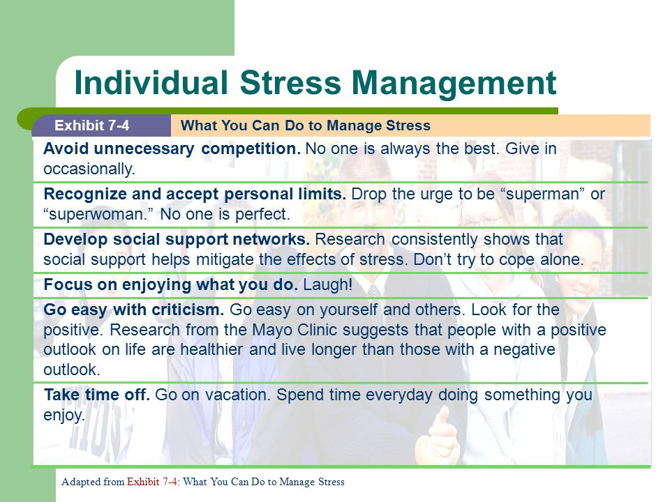 "an overview of the effects of stress on everyday life ""stress is the trash of modern life-we all generate it but if you don't dispose of a general overview of the causes, the effects the main causes of stress."