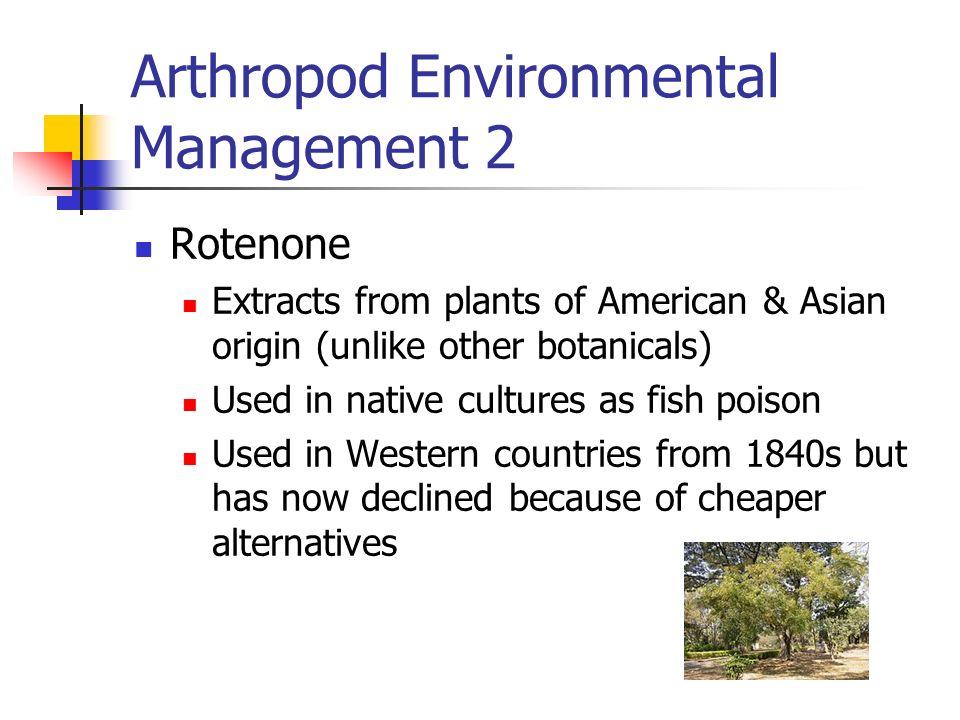 Arthropod Environmental Management 2