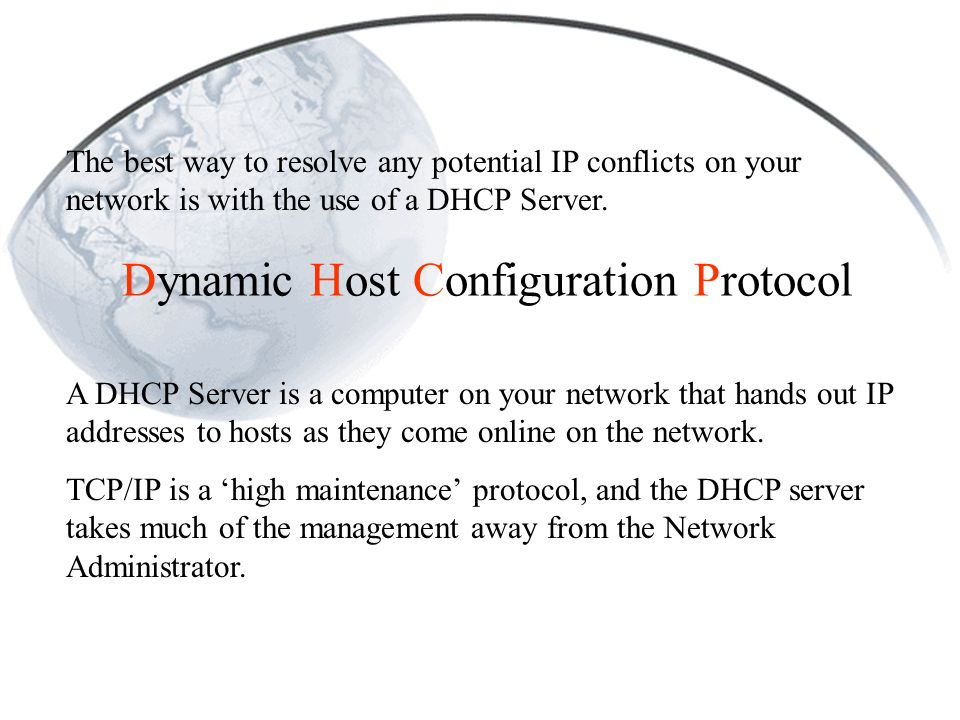 using dhcp with manual address mac