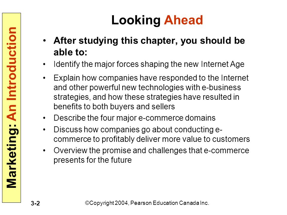 Looking Ahead After studying this chapter, you should be able to: