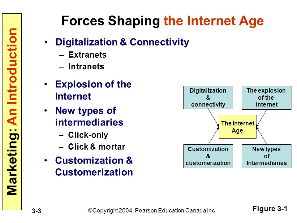 Forces Shaping the Internet Age