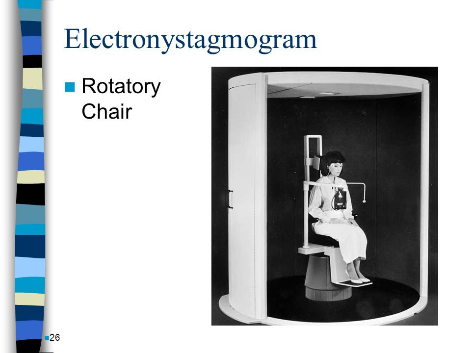 Electronystagmogram Rotatory Chair