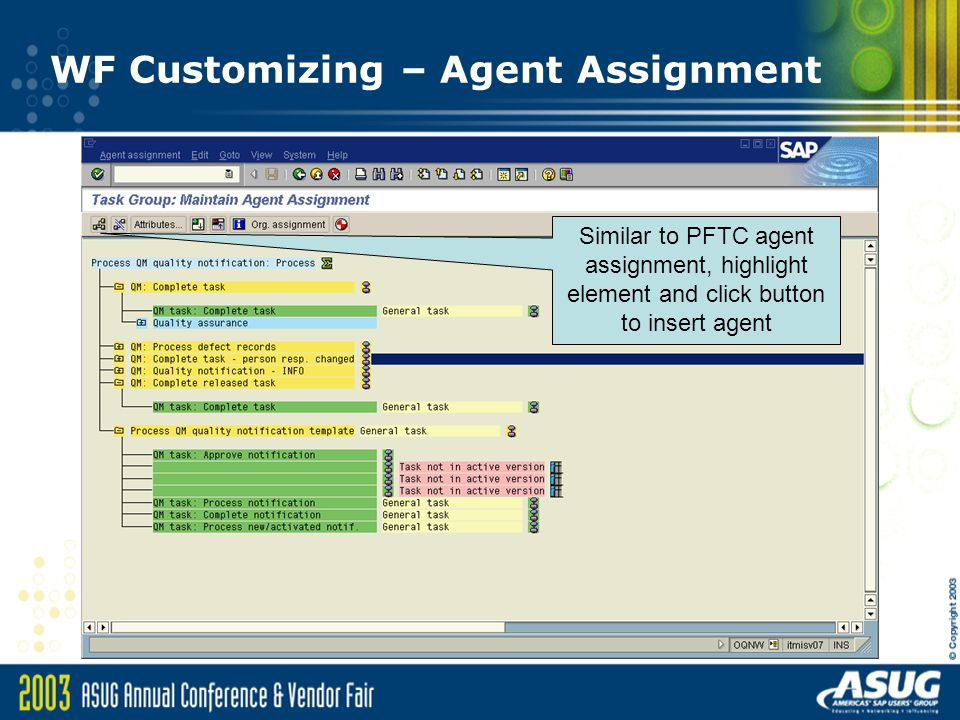 agent assignment in workflow