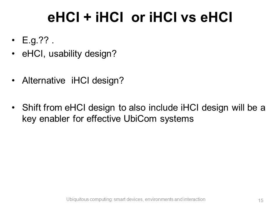eHCI + iHCI or iHCI vs eHCI