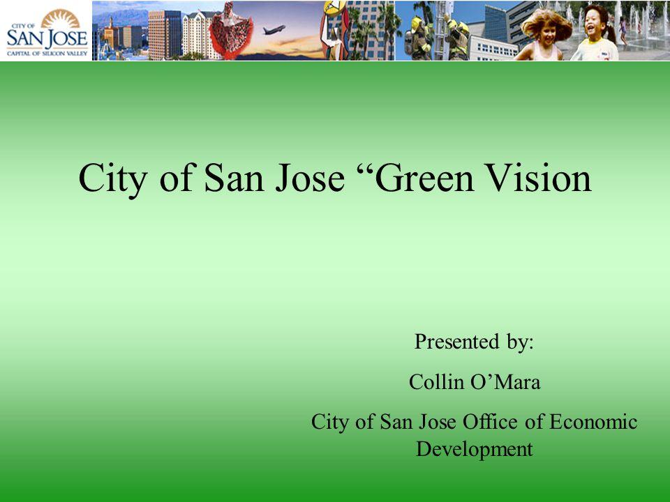 City of San Jose Green Vision