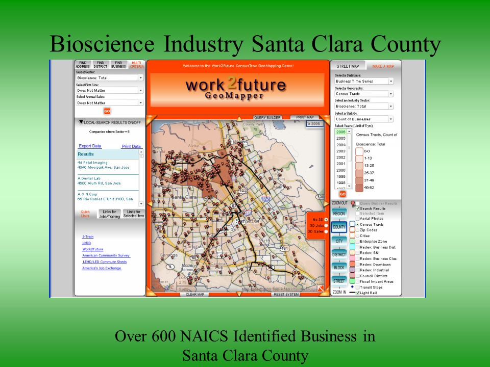 Bioscience Industry Santa Clara County