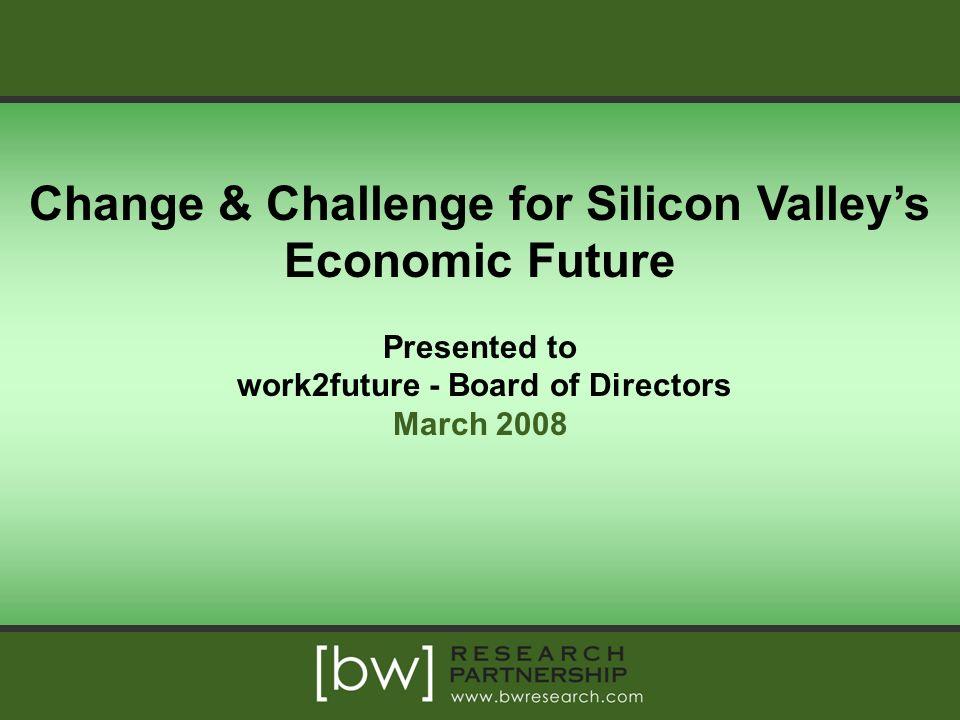 Change & Challenge for Silicon Valley's Economic Future