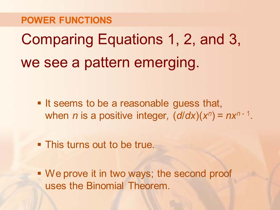Comparing Equations 1, 2, and 3, we see a pattern emerging.