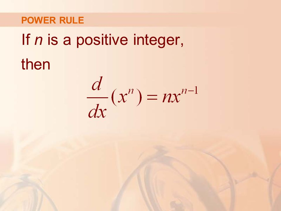 If n is a positive integer, then