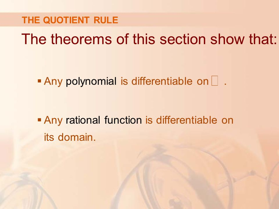 The theorems of this section show that: