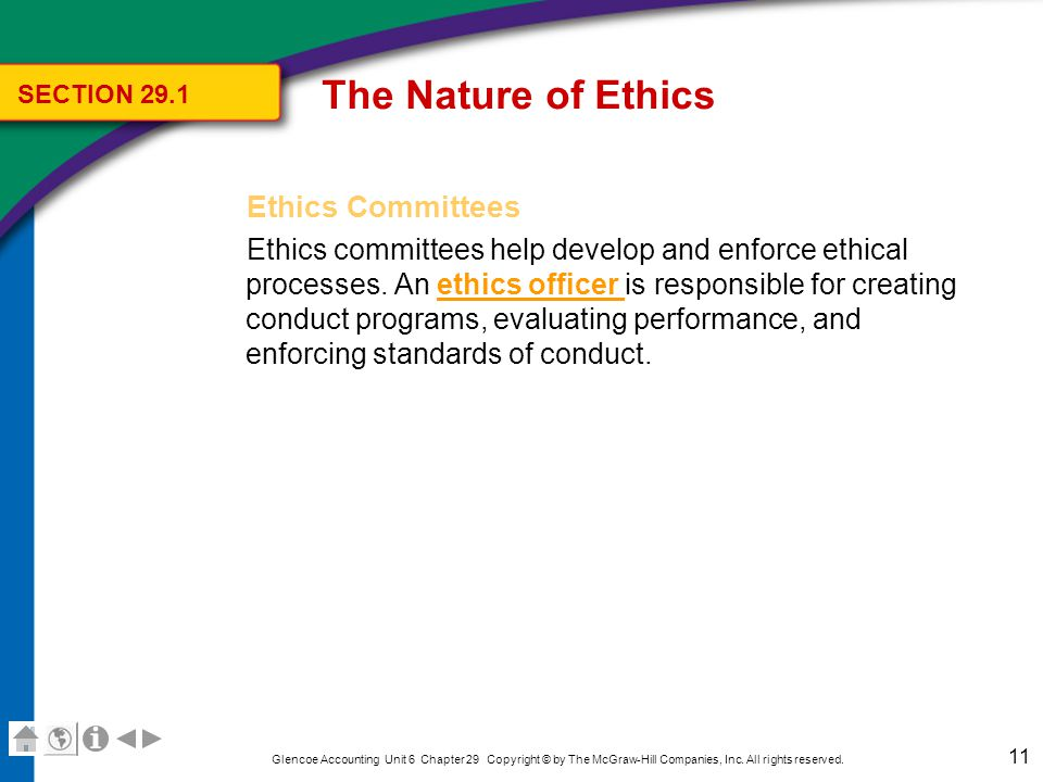 The Nature of Ethics Enforcement