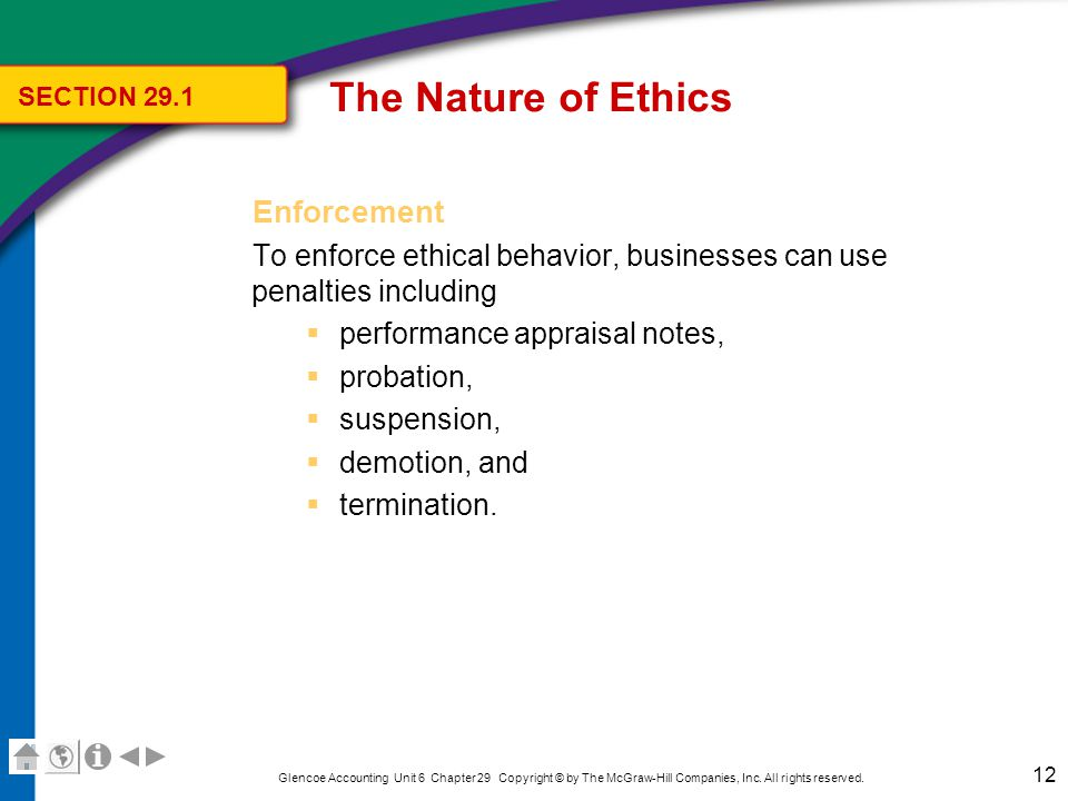 The Nature of Ethics What is the Accountant's Role