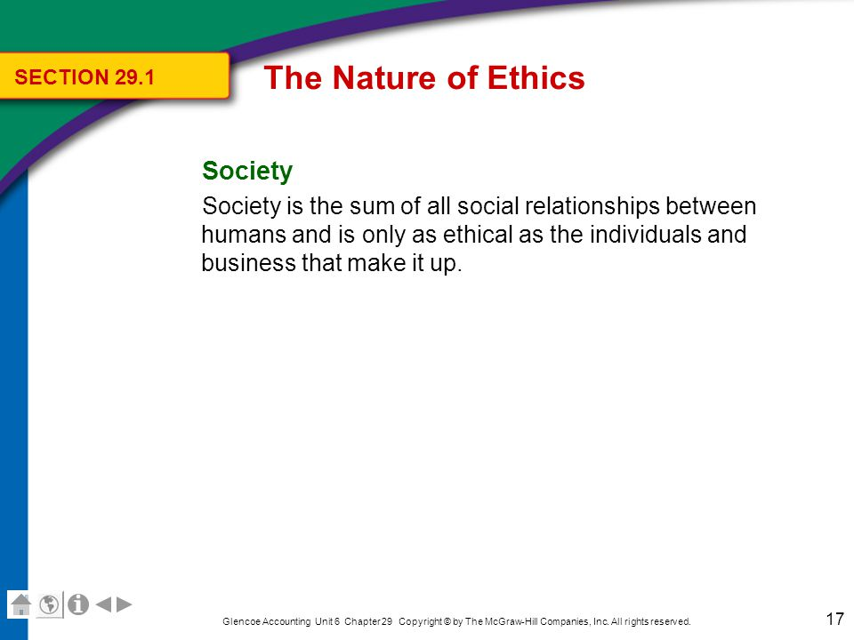 The Nature of Ethics Key Terms Review ethics