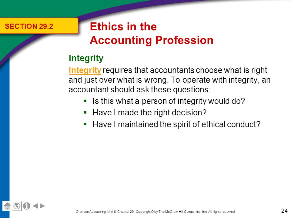 Chapter 29 Ethics in Accounting - ppt video online download